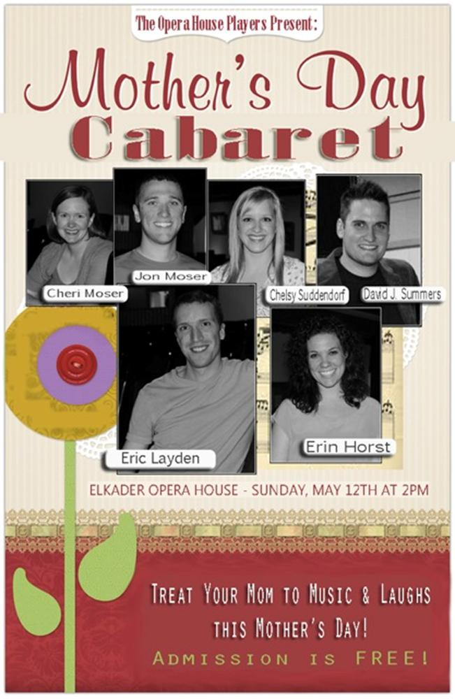 Mother's Day Caberet at the Elkader Opera House